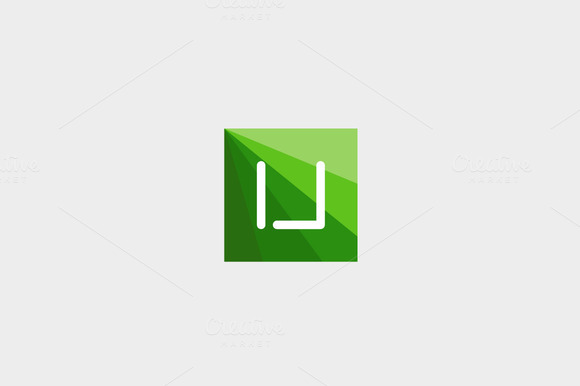 Abstract Letter U Logo Design