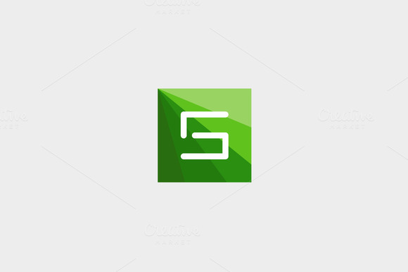 Abstract Letter S Logo Design