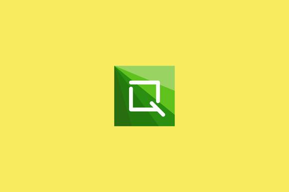 Abstract Letter Q Logo Design