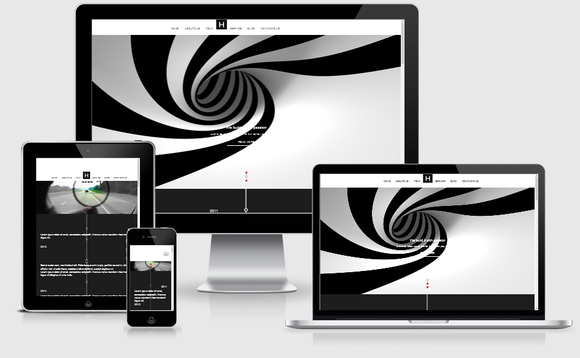 Blacker- Responsive HTML5 Template