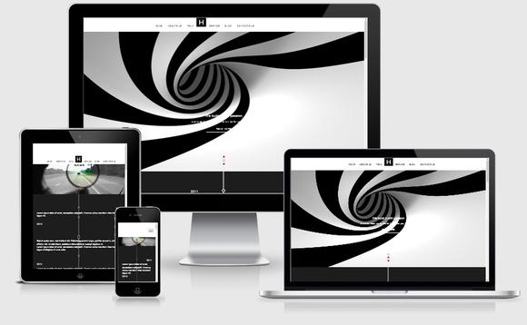 Blacker- Responsive HTML5 Template