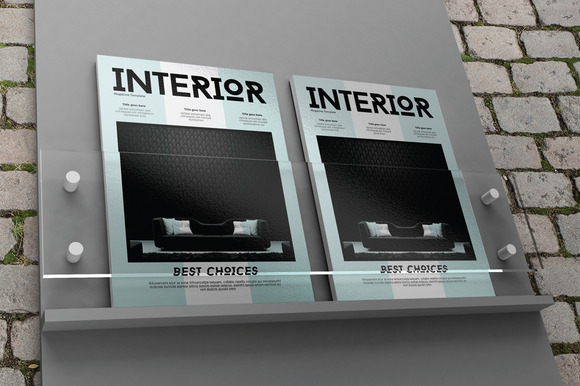 Cover Book Magazine Mock-Ups