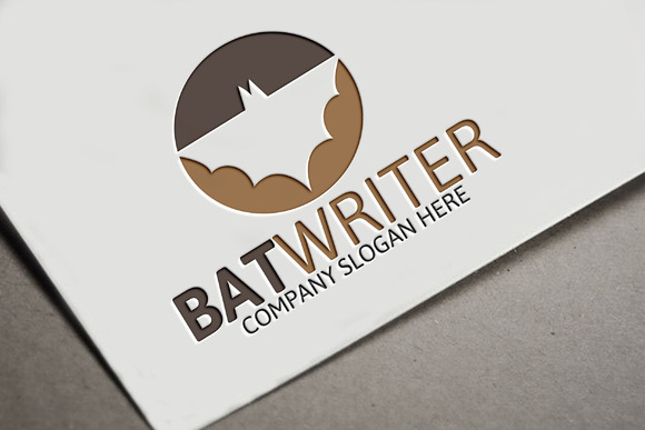 Bat Writer Logo