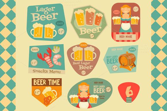 Beer Stickers