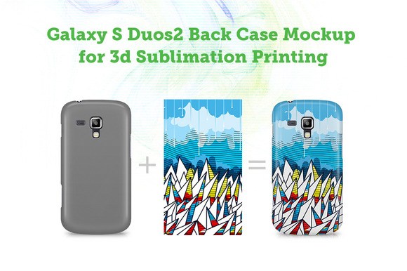 Galaxy S Duos 2 3D Mocku-up