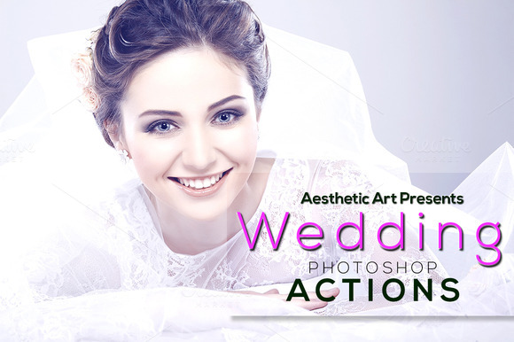Aesthetic Wedding Photoshop Actions