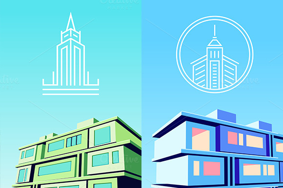 Vector Logos And Landscapes
