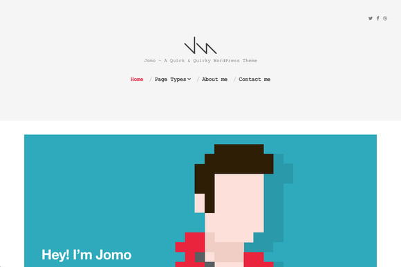 Jomo A Quick Quirky Theme