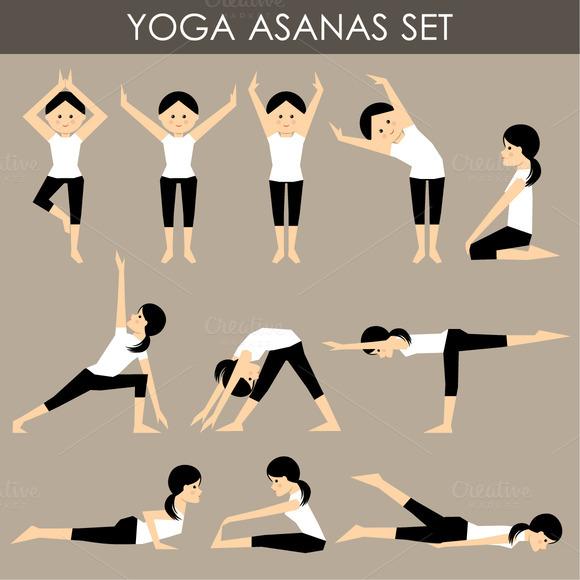 Asanas In Yoga