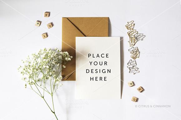 Design Presentation Card Invites