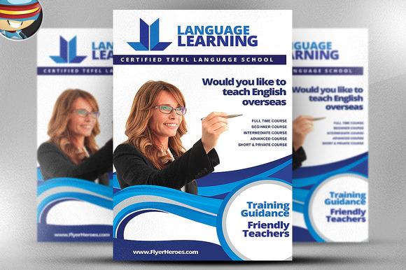 Teaching Flyer Template