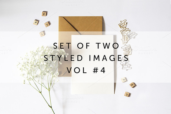 Set Of 2 Styled Stock Images