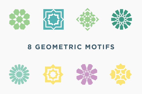 8 Middle Eastern Geometric Motifs