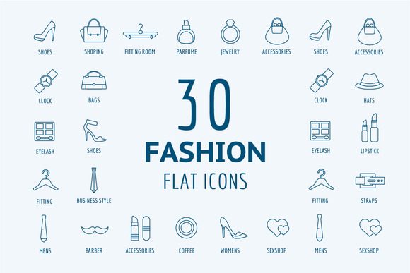 Fashion Vector Logo Icons