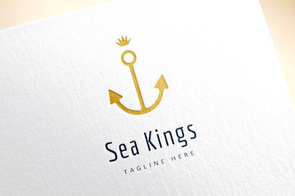 Anchor Vector Logo Icon Sea