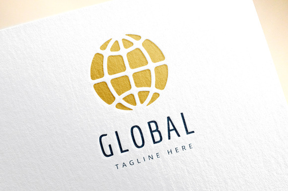 Earth Map Logo Icon Globe Travel