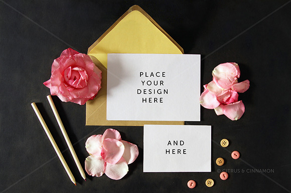 Styled Photo Invitation RSVP