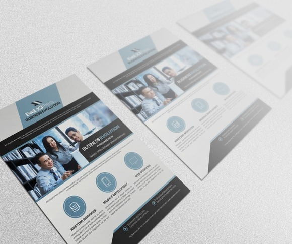 Business Evolution Flyer Template II