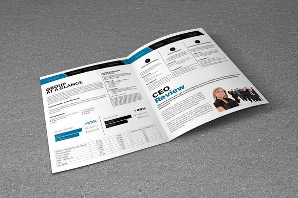 Business Showcase A4 Bi-Fold Brochur