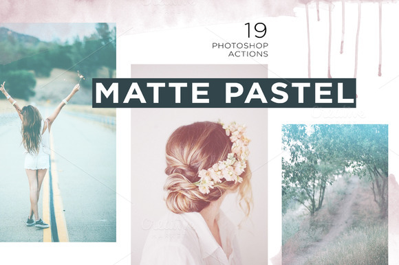 Matte Pastel Photoshop Actions