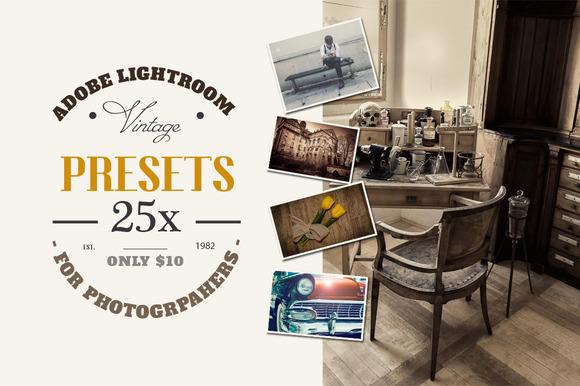 Lightroom Vintage Retro Presets