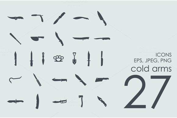 27 Cold Arms Icons