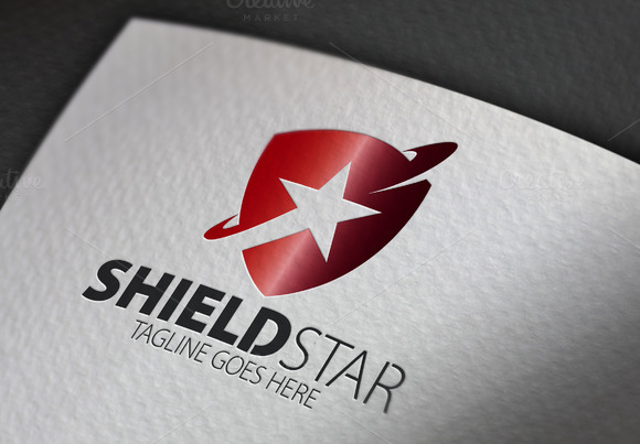 Shield Star Logo