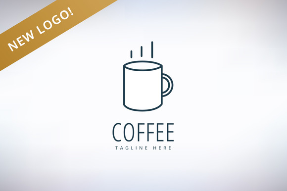 Coffee Cup Vector Logo Icon