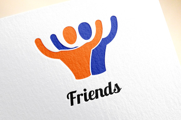 Friends Or Partners Vector Logo