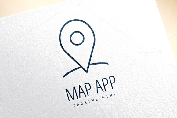 Map Marker On The Map Icon Element