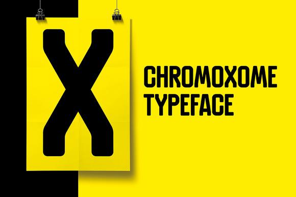Chromoxome Typeface