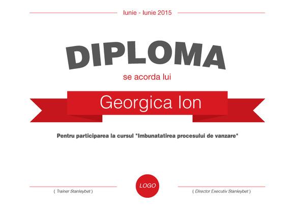 Diploma Curs Vanzari