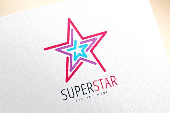 Star Vector Logo Icon Leader