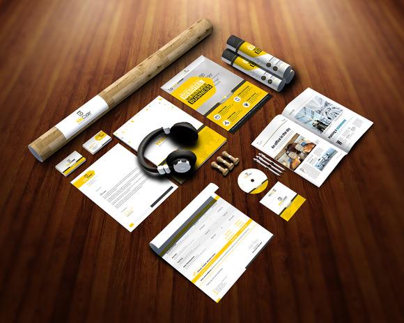Branding Stationery Mockups 2