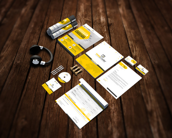 Branding Stationery Mock-Up