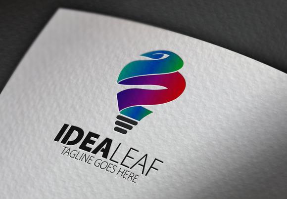 Idea Leaf Logo