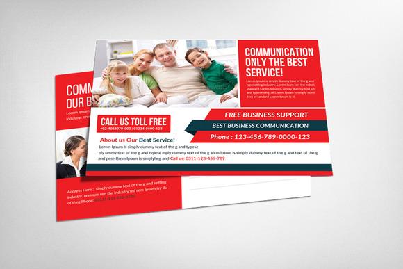 Communications Company Postcard