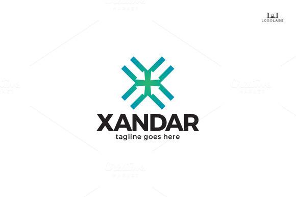 Xandar Letter X Logo