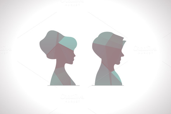 Polygonal Profile Avatars
