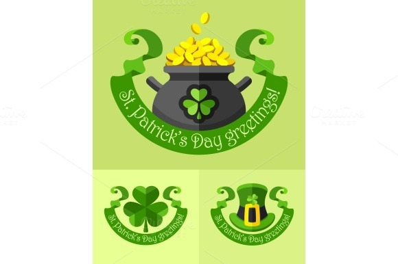 Emblems For Saint Patricks Day