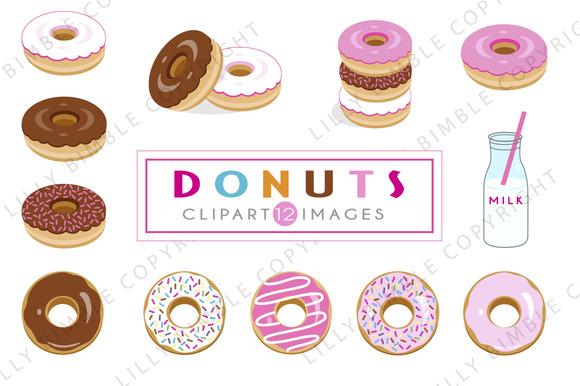 40% Off Donut Illustrations
