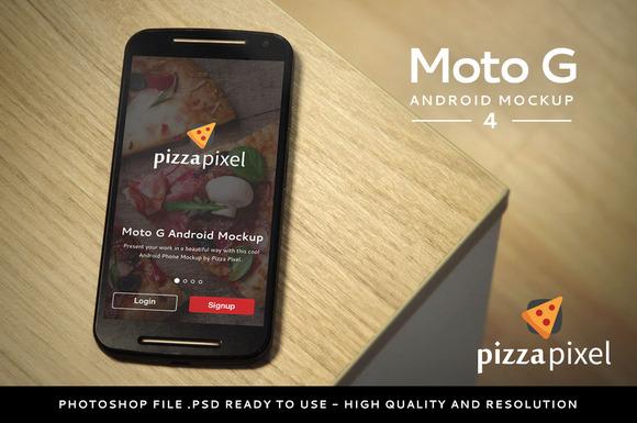Moto G Easy Android Mockup 4