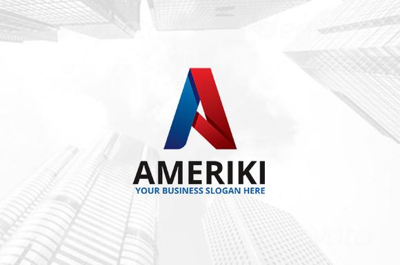 Ameriki Logo Template