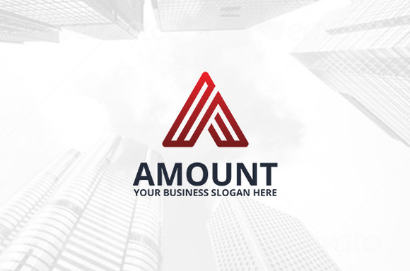 Amount Logo Template