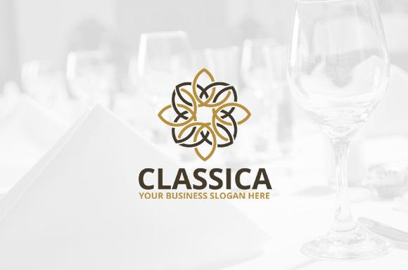 Classica Logo Template