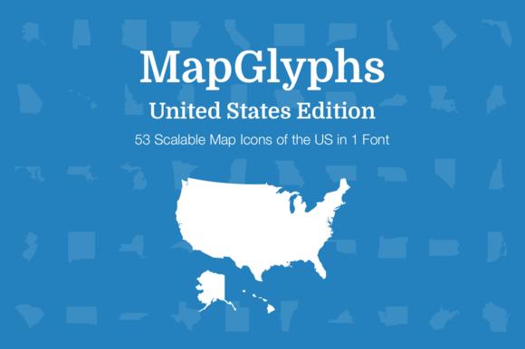 MapGlyphs United States