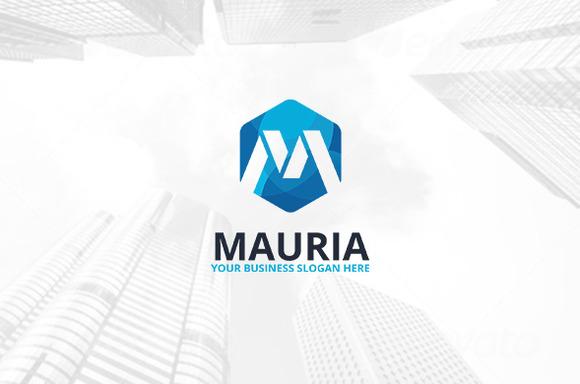 Mauria Logo Template