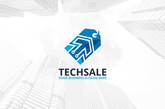 Tech Sale Logo Template
