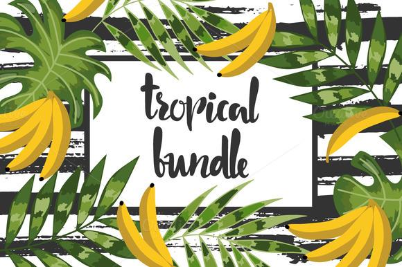 Amazing Tropical Bundle For Decor