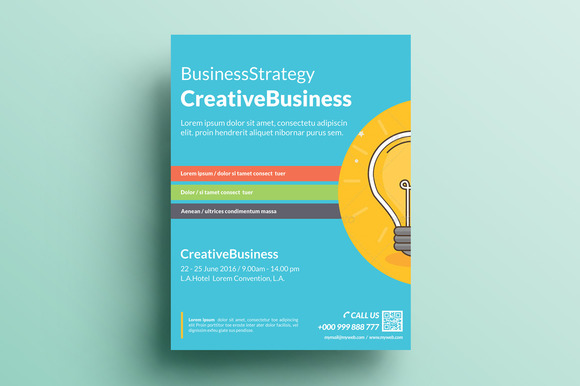Creative Corporate Flyer V12
